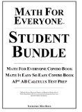 Math For Everyone Student Bundle Hardcover: Math For Everyone Combo Book, Math Is Easy So Ea...