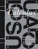 Saxon Calculus: Homeschool Kit