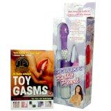 Toygasms! The Insider's Guide to Sex Toys and Techniques Rabbit Vibrator Gift Box Set (Paper...