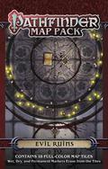 Pathfinder Map Pack : Evil Ruins