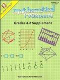 Mathematical Reasoning, Grades 4-6 Supplement