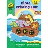 Bible Printing Fun! (Inspired Learning Workbook)