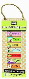 Green Start Book Towers: Little Learning Books: 10 Chunky Books Made from 98% Recycled Mater...