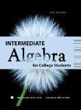 Intermediate Algebra for College Students 6/e