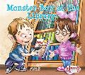 Monster Boy at the Library
