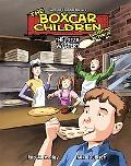 The Pizza Mystery: Book 11 (Boxcar Children Graphic Novels Set 2)