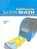 California Saxon Math: Intermediate 5, Volume 2