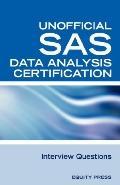 Sas Statistics Data Analysis Certification Questions