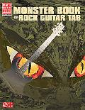 The Monster Book of Guitar Rock Tab
