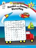 Puzzles and Games: Word Play (Home Workbooks: Gold Star Edition)
