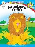 Numbers 0-30 (Home Workbooks: Gold Star Edition)