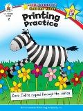 Printing Practice (Home Workbooks: Gold Star Edition)