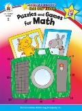 Puzzles and Games for Math (Home Workbooks: Gold Star Edition)