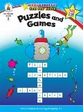 Puzzles and Games (Home Workbooks: Gold Star Edition)