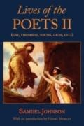 Lives Of The Poets Ii (Gay, Thomson, Young, Gray, Etc.)