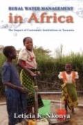 Rural Water Management In Africa