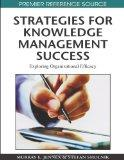 Strategies for Knowledge Management Success: Exploring Organizational Efficacy (Premier Refe...
