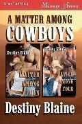 A Matter Among Cowboys [A Matter Among Men, A Matter Among Four] (Siren Menage Amour)