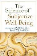Science of Subjective Well-Being
