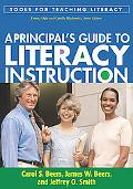 A Principal's Guide to Literacy Instruction (Tools for Teaching Literacy)