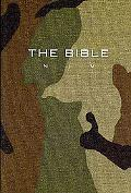 NIV Compact Bible Green Camouflage