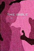 NIV Compact Bible Pink Camouflage