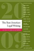 The Best American Legal Writing 2009