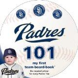 San Diego Padres 101 (My First Team-Board-Book)