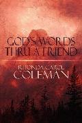 God's Words Thru a Friend