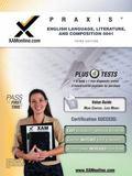 PRAXIS English Language, Literature, and Composition 0041 Teacher Certification Test Prep St...