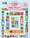 1,000 Any-Size Quilt Blocks (Leisure Arts #5593)