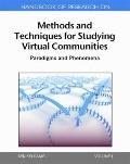 Handbook of Research on Methods and Techniques for Studying Virtual Communities : Paradigms ...