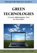 Green Technologies : Concepts, Methodologies, Tools and Applications