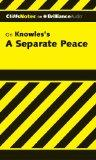 A Separate Peace (Cliffs Notes Series)