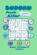 Killer Sudoku Puzzle, Volume 1