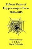 Fifteen Years of Hippocampus Press: 2000-2015