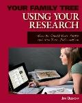 Using Your Research