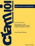 Outlines & Highlights for Introduction to Law Enforcement and Criminal Justice by Karen M. H...