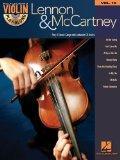 Lennon & Mccartney Violin Play-Along Volume 19 (Bk/Cd)