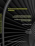 Recent Advances in Mechanical Engineering and Mechanics : (tmam '14), (me '14)