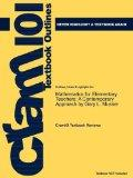 Outlines & Highlights for Mathematics for Elementary Teachers: A Contemporary Approach by Ga...