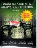 Financial Statement Analysis and Valuation : Special Custom Edition