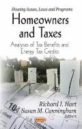 Homeowners and Taxes : Analyses of Tax Benefits and Energy Tax Credit