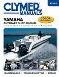 Yamaha 75 - 250 Hp 4-Stroke Outboards Repair Manual : 2000-2013