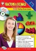 Fractions and Decimals Daily Warm-Ups CD-ROM, Grades 5 - 8
