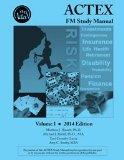 Actex Fm/2 Study Manual, 2014 Edition