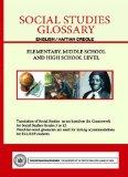 Social Studies Glossary - English/Haitian Creole - Elementary, Middle School and High School...
