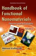 Handbook of Functional Nanomaterials Vol. 2 : Characterization and Reliability