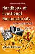 Handbook of Functional Nanomaterials : Volume 1 -- Synthesis and Modification