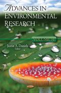 Advances in Environmental Research : Volume 31